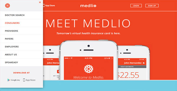 Medlio jQuery Animation Technique