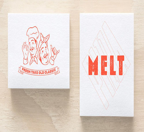 Melt Logo Design