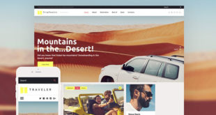 Travel and Outdoors WordPress Themes