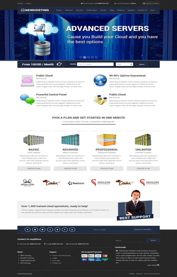 New Web Hosting