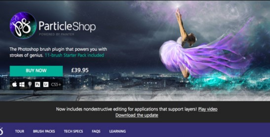 ParticleShop Photoshop Plugin