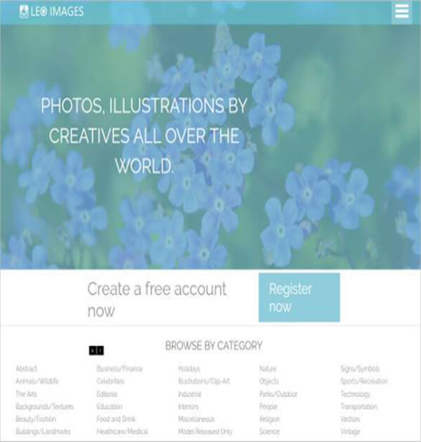 Photo Gallery Website Template