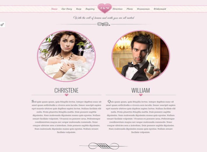 Pink Best HTML Template