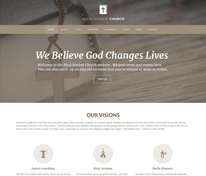 Rock Harbor Best Responsive Church