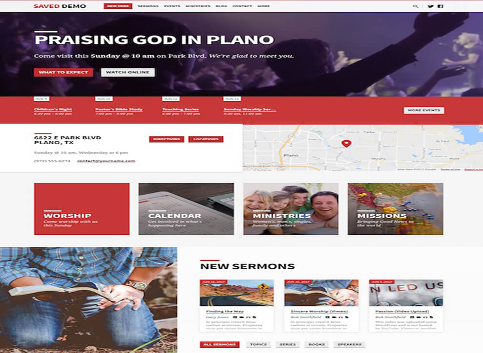 Saved Best Responsive Church