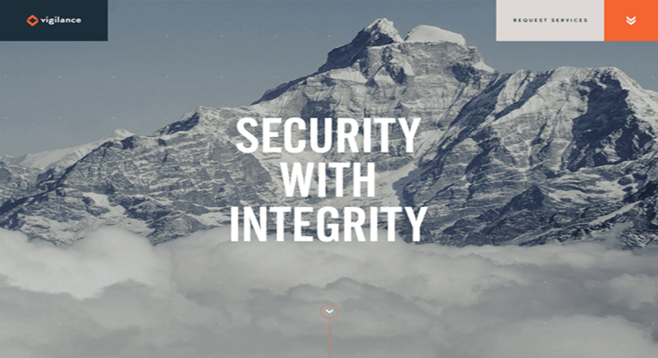Security Creative Website