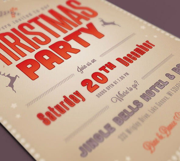 Simple Christmas Flyer Template