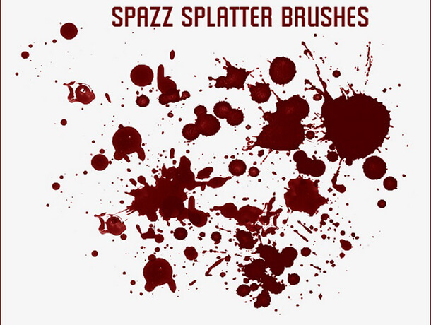 Spazz Splatter Watercolor