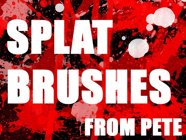 Splat Brushez Splatter Watercolor