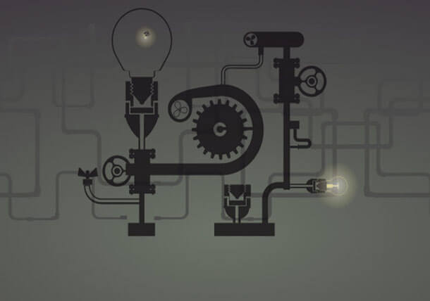 Steam Punk Unique SVG Animation