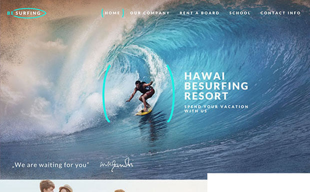 Surfing Small Business