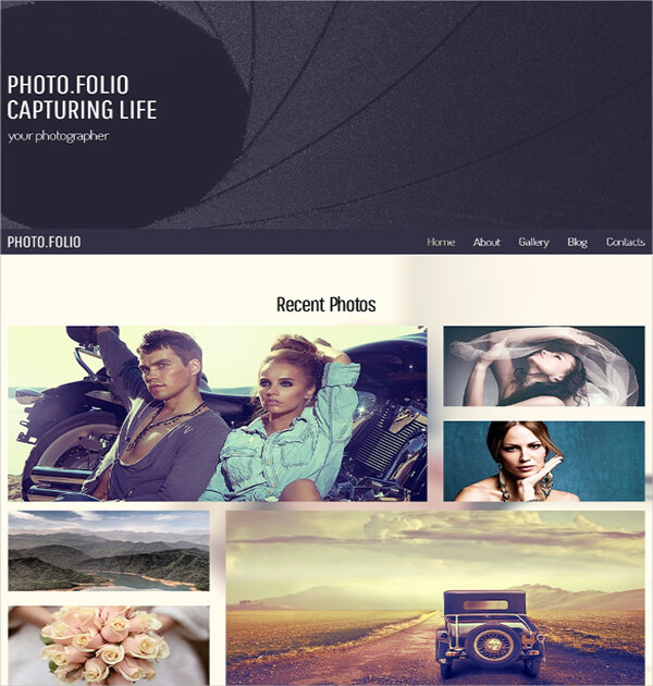 Template Responsive HTML5
