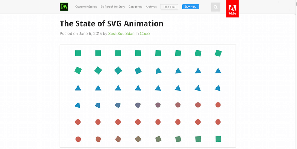 The State SVG Animation Example
