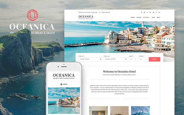 Tourism Outdoor WordPress