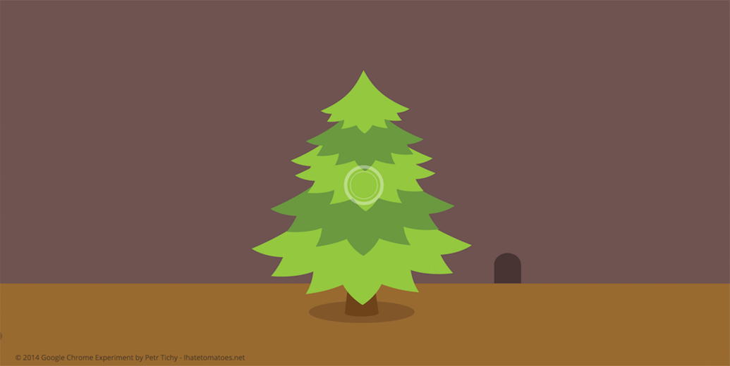 Tree SVG Animation Example