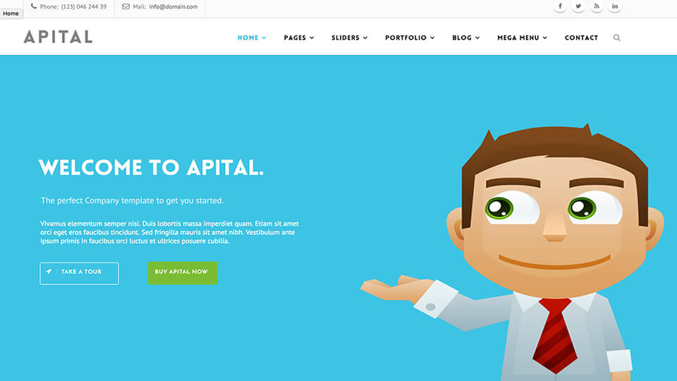 Ultra Best Responsive Drupal Template