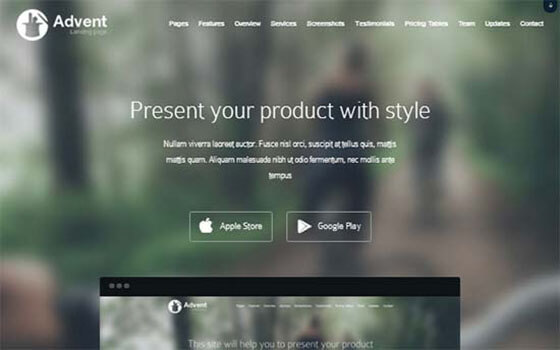 advent Business WordPress Theme