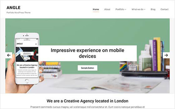 angel Business WordPress Theme