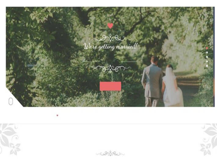 big day Website Template