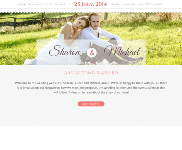 bliss HTML Wedding