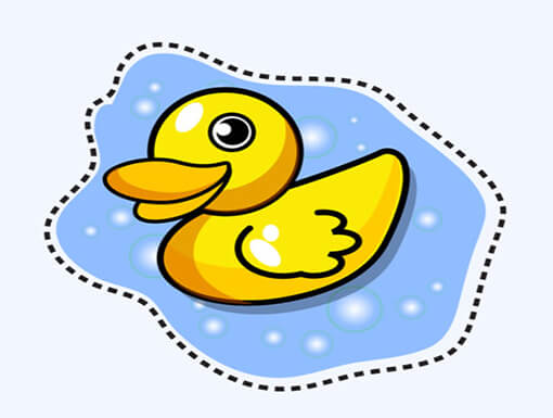 cartoon duck Draw a Cartoon