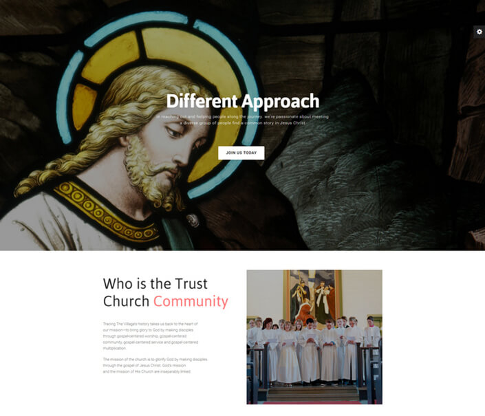 church website Best Responsive