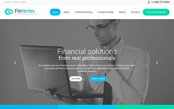 finvertex Small Business WordPress