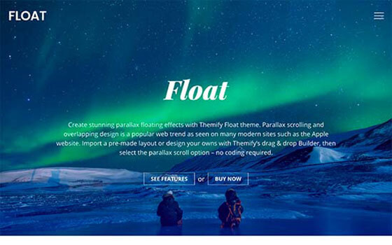 float Business WordPress Theme