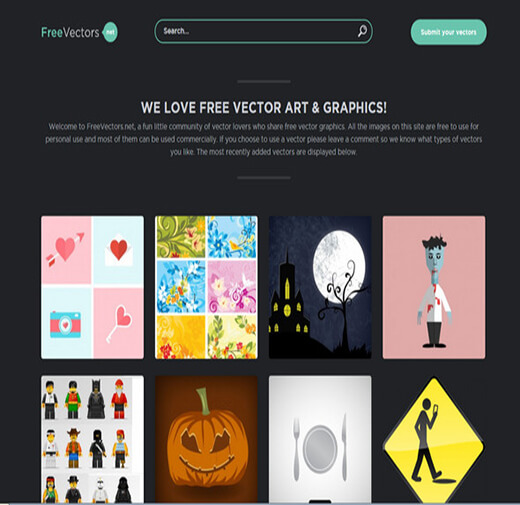 freevectors Website to Download