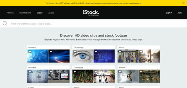 istock Footage Resource