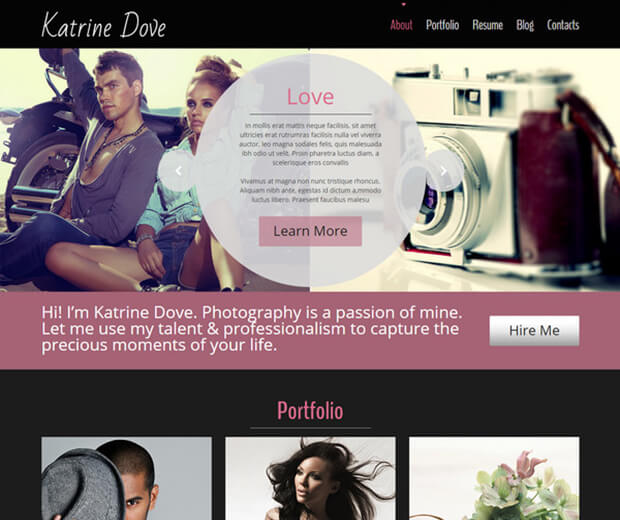 katrina dove HTML5 Photography