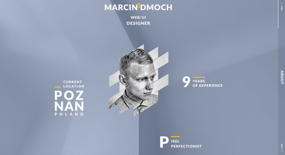marcin dmoch Website Design