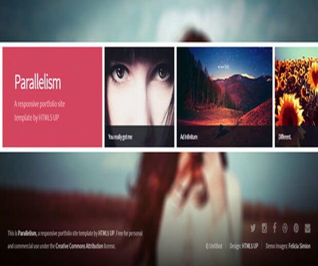 pareelism Photography Website