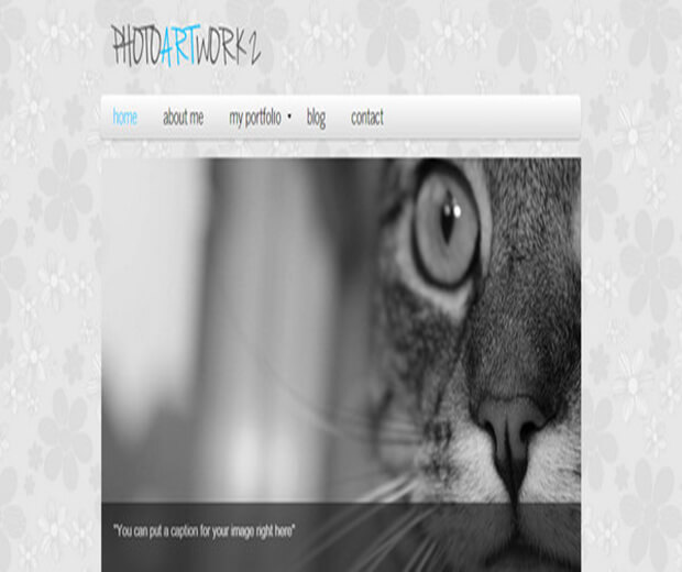 photoartwork Website Template