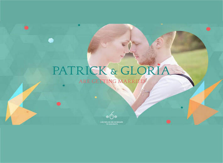 polanner HTML Wedding Website