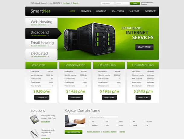 smart netz Web Hosting