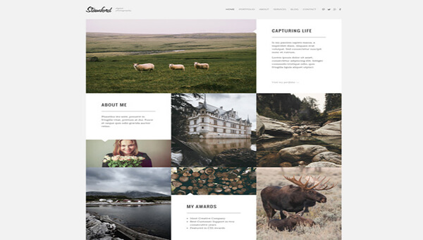 stanford Responsive HTML5 Photography