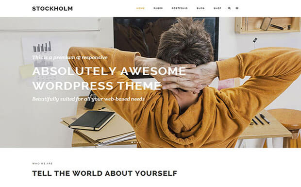 stockholm Business WordPress
