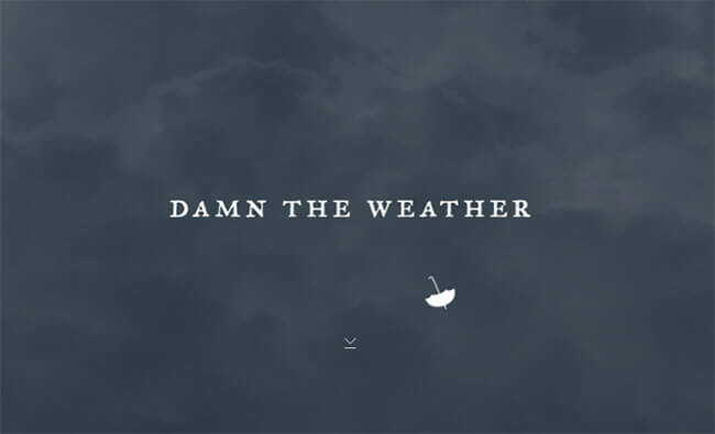 weather Design Example and Idea