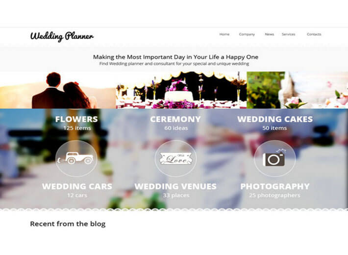 wedding planner Best Template