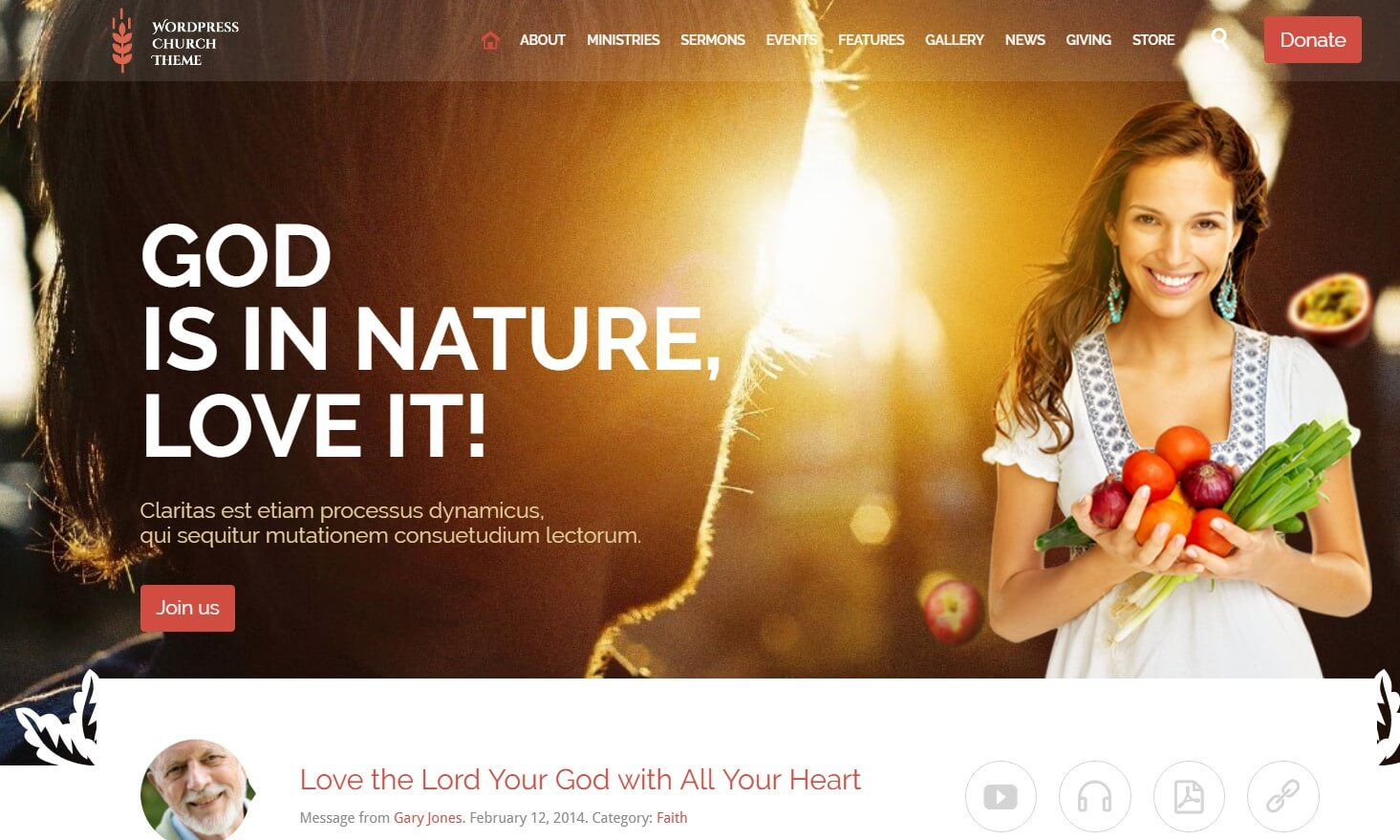 Church WordPress Themes