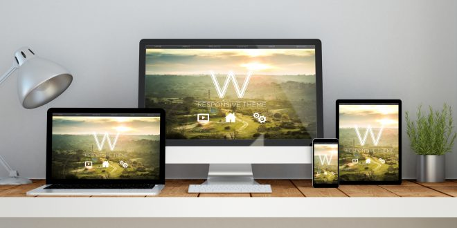 workplace with website cms theme online responsive website on de