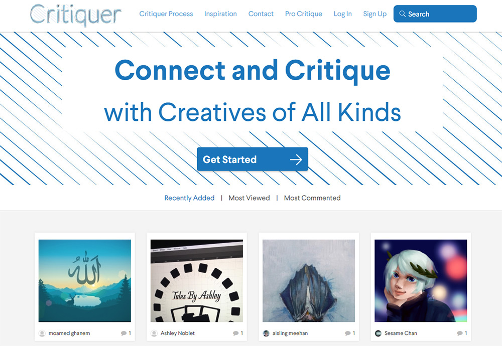 03 critiquer homepage
