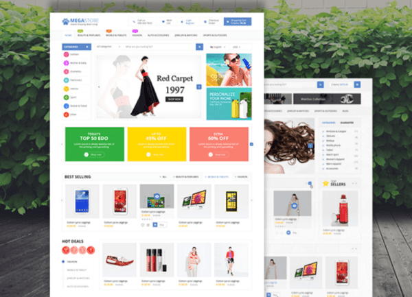 Mega Store Responsive WooCommerce WordPress Theme