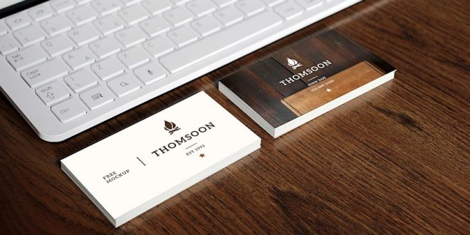 20 awesome business card mockups design free download