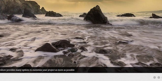 camera jQuery image slideshow 660x330