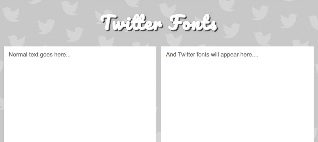 TwitterFonts