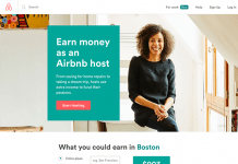 airbnb landing page for host