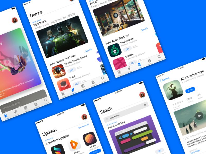 iOS 11 App Store Sketch Resource
