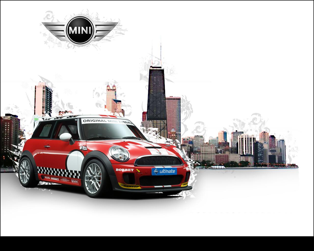 Stylish Mini Car Wallpaper  Photoshop Tutorials